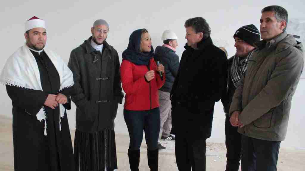 The mosque in Trino: in January men and women will pray together