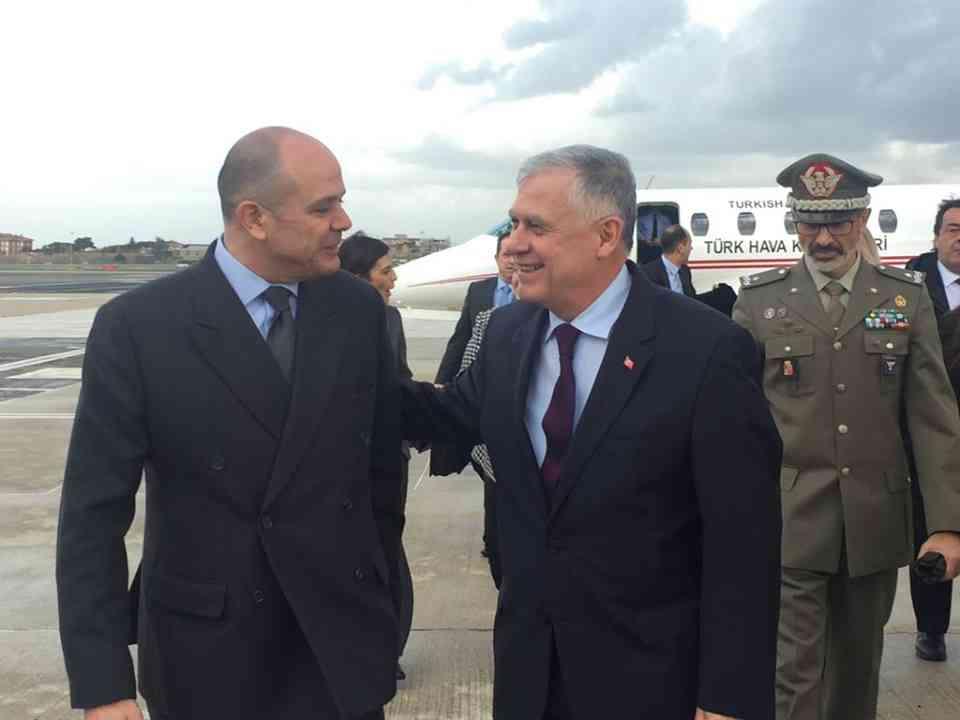 Il Capo di Stato Maggiore dell'Esercito Turco in visita a Roma