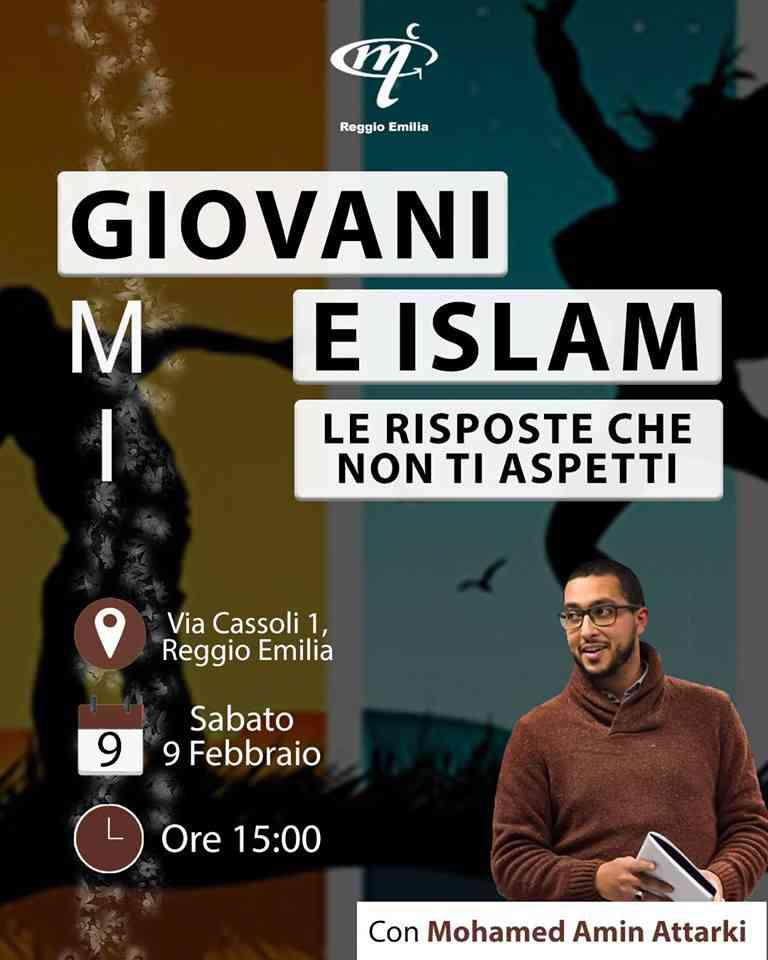 """I Giovani Musulmani d'Italia organizzano l'evento:""""Giovani e Islam: le risposte che non ti aspetti""""."""