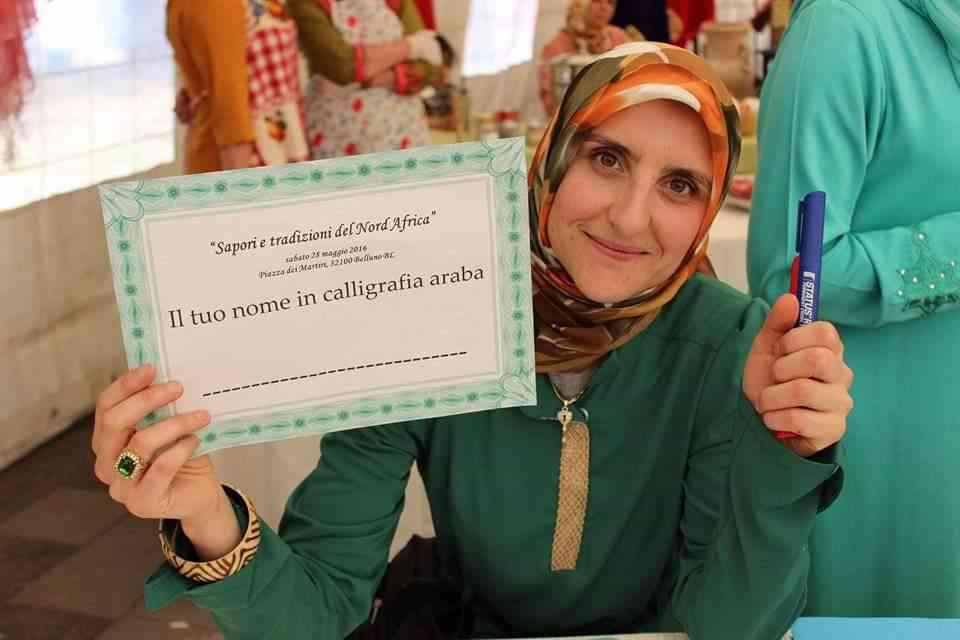 """Assia Belhadj: """"Il mio impegno per le donne musulmane"""""""