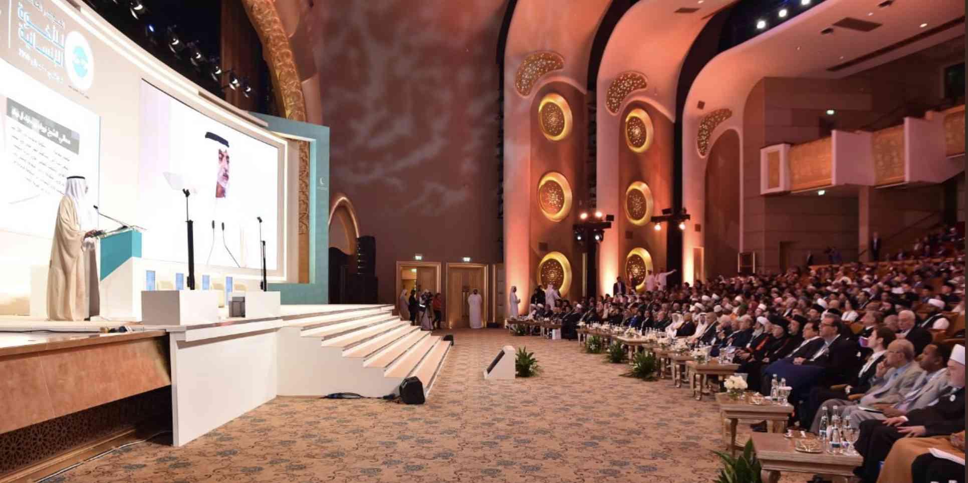 Convegno Internazionale sulla Fratellanza, 500 i leader religiosi riuniti ad Abu Dhabi