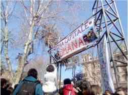 manifestazione Roma contro Decreto Salvini