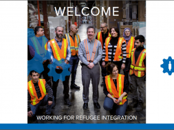 Welcome. Working for refugee integration