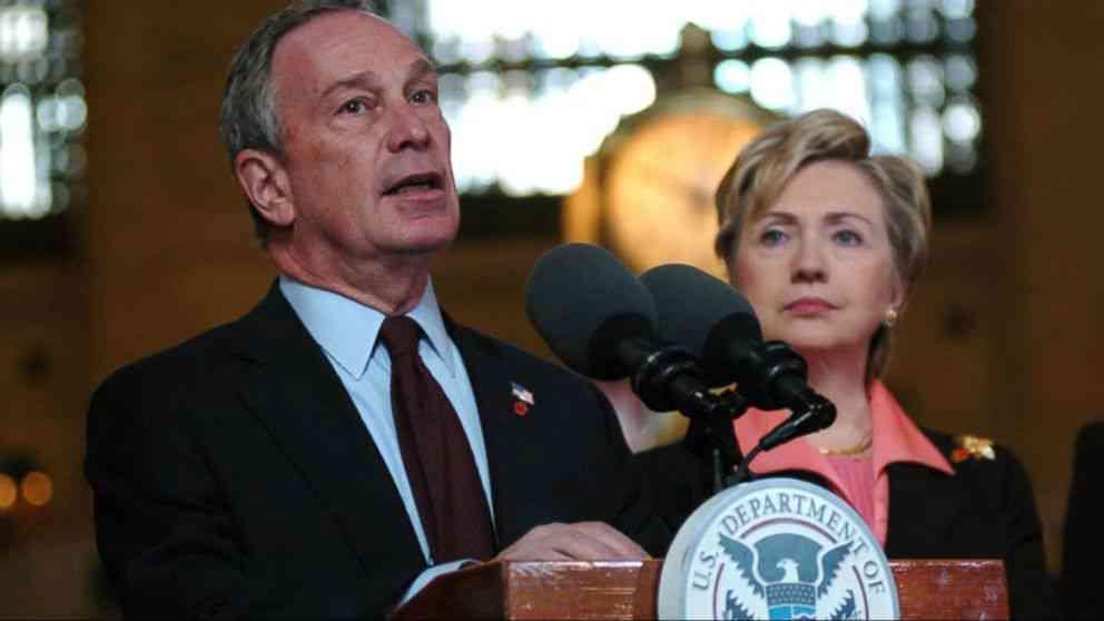 USA, alle presidenziali del 2020 Bloomberg e la Clinton non si candidano