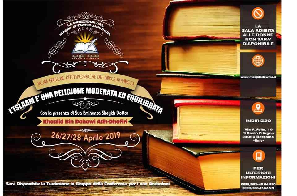 Bergamo: IX Fiera del libro islamico