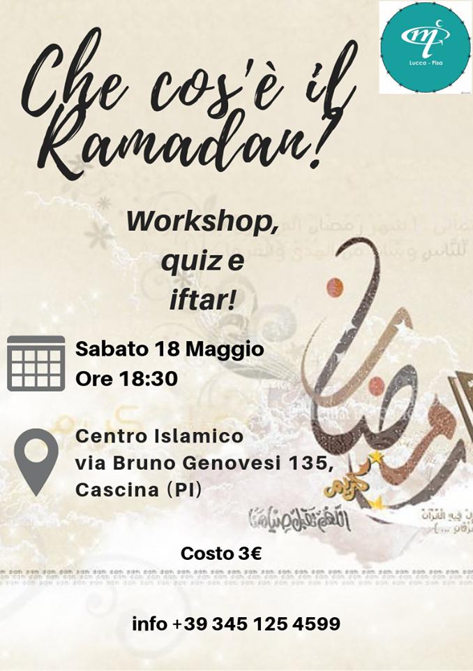 """""""Che cos'è il Ramadan"""" un seminario a Cascina"""
