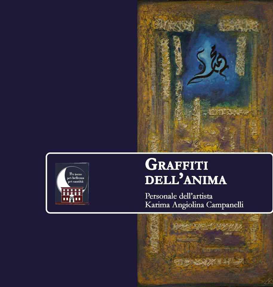 """Benevento, """"Graffiti dell'Anima"""" di Karima Angiolina Campanelli"""