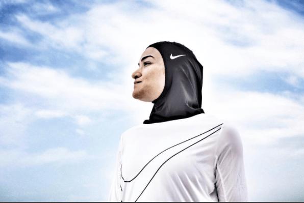 "L'atleta egiziana Manal Rostom è l'ispiratrice della campagna ""Dream Crazier"""