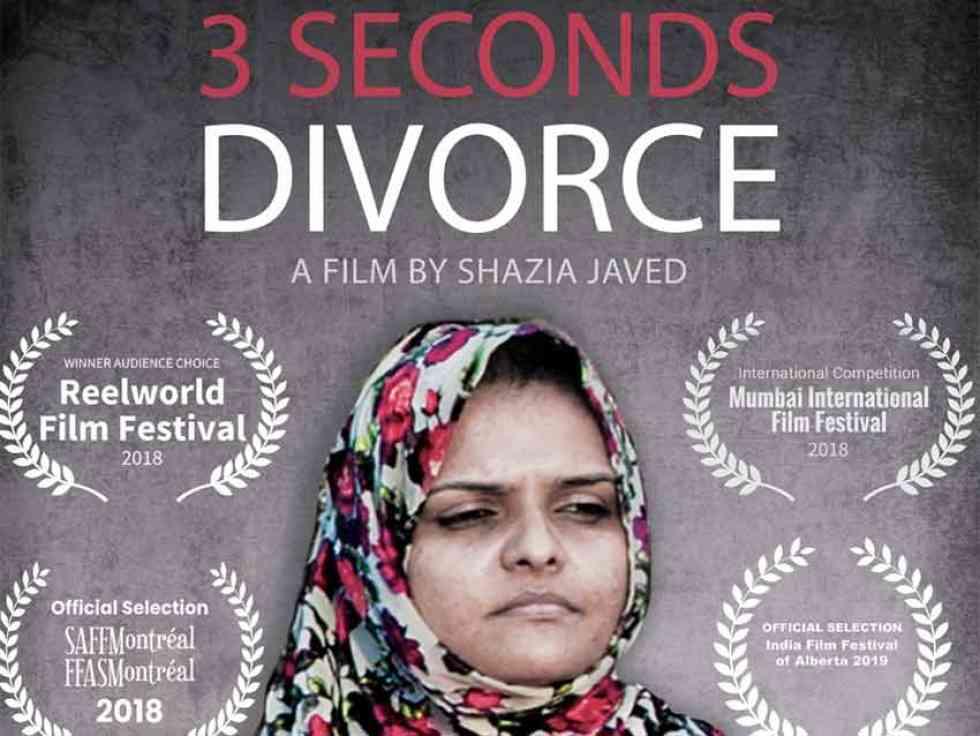 """Documentario di Shazia Javed contro il """"triplo Talaq"""" ora su NETFLIX"""
