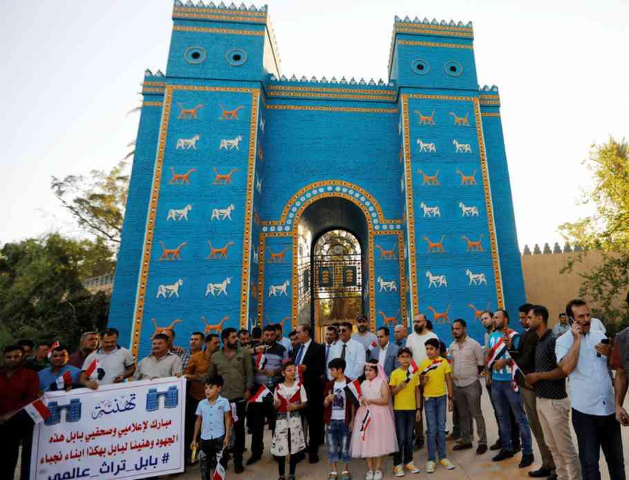 Antica città irachena di Babilonia nominata patrimonio mondiale dell'UNESCO